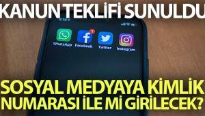 SOSYAL MEDYA YASA TASARISI MECLİSE SUNULDU