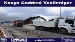 TEKNİK DESTEK İGM'DEN, KAYNAK VE YATIRIM EMİRDAĞ BELEDİYESİNDEN!..