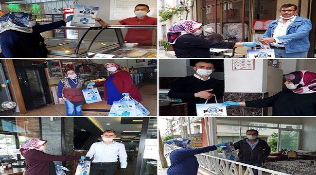 BAŞKAN ÇÖL'DEN İŞ YERLERİ'NE DEZENFEKTE DESTEĞİ