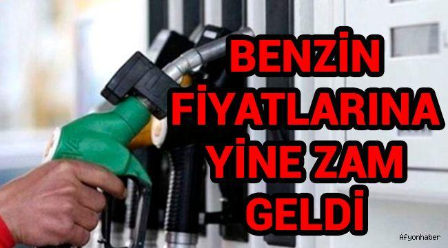 BENZİNE BİR ZAM DAHA!..