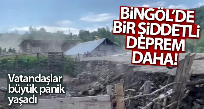 BİNGÖL'DE 5,6 BÜYÜKLÜĞÜNDE DEPREM!