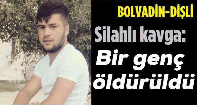 BOLVADİN DİŞLİ'DE SİLAHLI KAVGA, 1 GENÇ ÖLDÜ