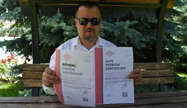 COVID-19 SERTİFİKALI İLK TERMAL OTEL AÇILIYOR