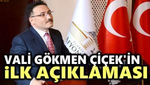 İŞTE VALİ GÖKMEN ÇİÇEK'İN İLK AÇIKLAMASI!..