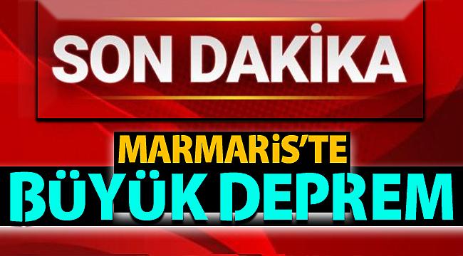 MARMARİS'TE 5.2 ŞİDDETİNDE DEPREM