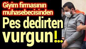 MUHASEBE ELEMANINDAN PES DEDİRTEN VURGUN!..