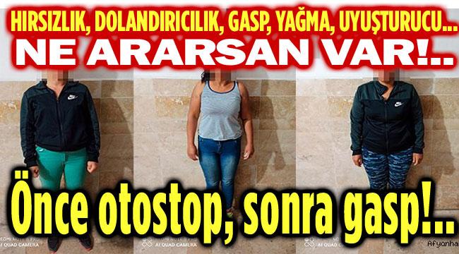 ÖNCE OTOSTOP ÇEKMİŞLER, SONRA GASP ETMİŞLER!..