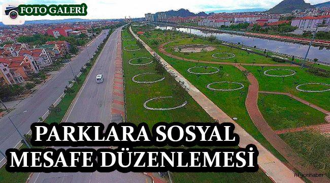 PARKLARA SOSYAL MESAFE DÜZENLEMESİ