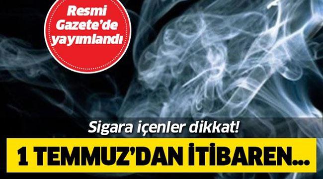 SİGARA İÇENLER, DİKKAT!..