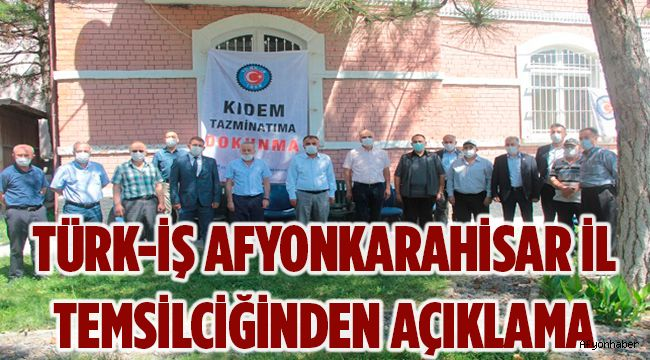 KIDEM TAZMİNATI KIRMIZI ÇİZGİMİZ!..