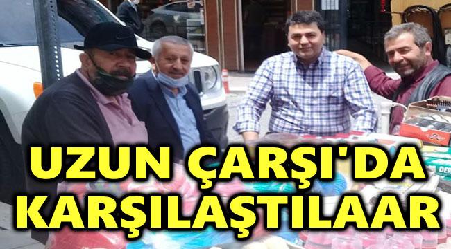 UZUN ÇARŞI'DA KARŞILAŞTILAR!..