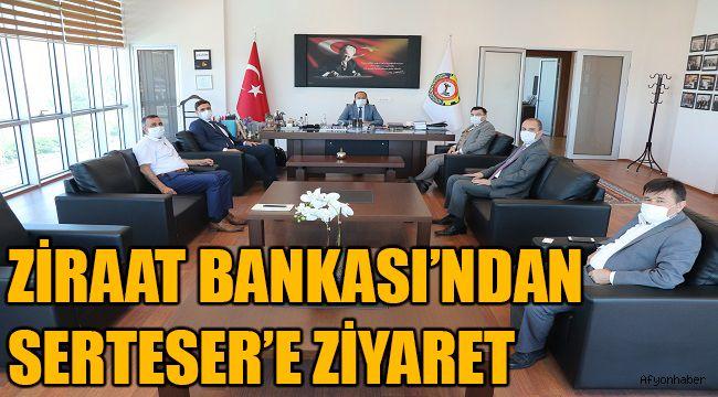 ZİRAAT BANKASI'NDAN SERTESER'E ZİYARET