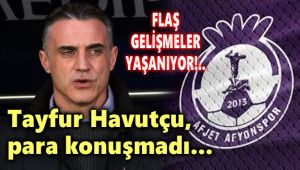 AFJET AFYONSPOR'DA FLAŞ GELİŞMELER!..