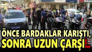 BARDAKLAR KARIŞTI, ESNAF BİRBİRİNE GİRDİ!..