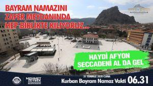 BAYRAM NAMAZI, ZAFER MEYDANINDA KILINACAK!..