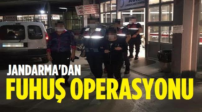 JANDARMA'DAN FUHUŞ OPERASYONU