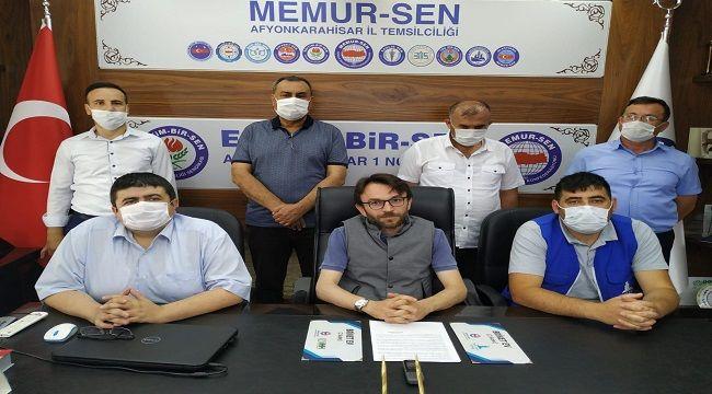 MEMUR-SEN AFYON BRİKET EV PROJESİNE DESTEK