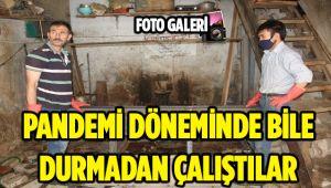 PANDEMİ DÖNEMİNDE BİLE DURMADAN ÇALIŞTILAR
