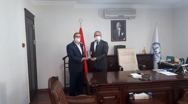 SAADET PARTİSİ'NDEN MÜFTÜ KAZANCI'YA HOŞ GELDİN ZİYARETİ