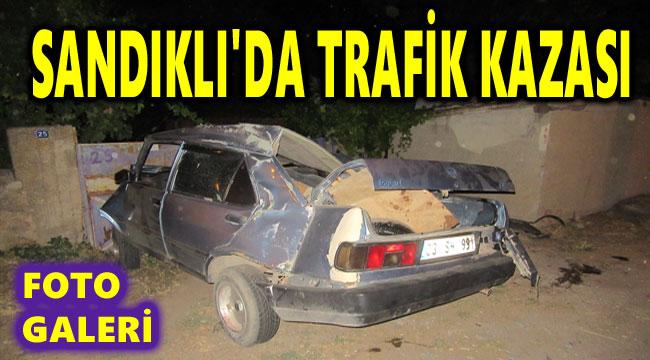 SANDIKLI'DA TRAFİK KAZASI