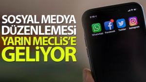 SOSYAL MEDYA DÜZENLEMESİ MECLİSE GELİYOR!..