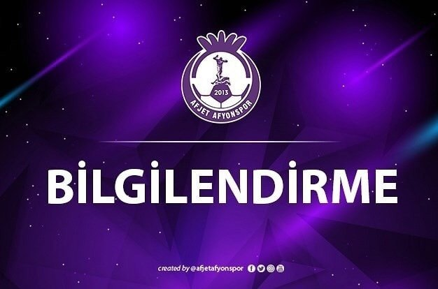 AFJET AFYONSPOR, ELİT AKADEMİ VE B.GELİŞİM LİGİNDE OYNAYACAK GELECEĞİN FUTBOLCULARINI BEKLİYOR!