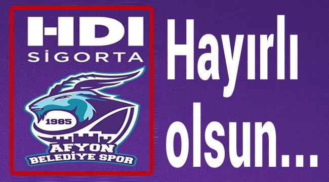AFYON BASKET'İN YENİ İSİM SPONSORU HDI SİGORTA