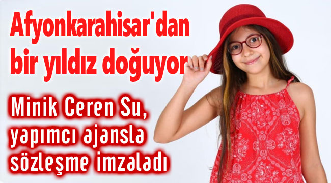 AFYONKARAHİSAR'DAN BİR YILDIZ DOĞUYOR...