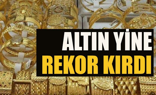 ALTIN YİNE REKOR KIRDI!..