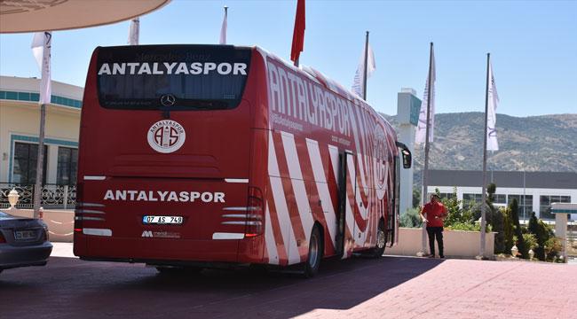 ANTALYASPOR'UN AFYONKARAHİSAR KAMPI SONA ERDİ