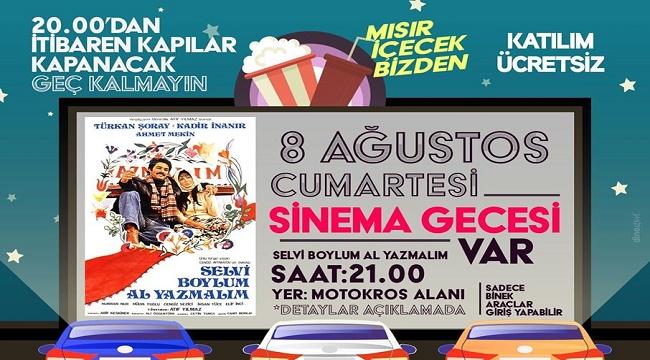 'ARABA'DA SİNEMA KEYFİ BU AKŞAM!..