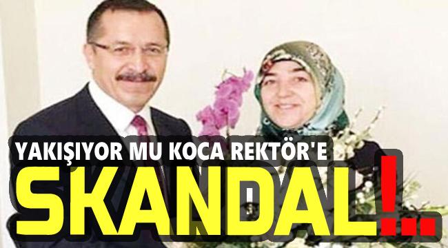 BU KRİTERLERE SADECE REKTÖR BEYİN EŞİ UYUYOR!..