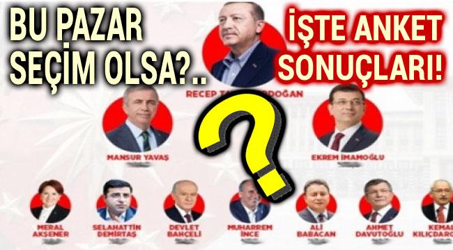 BU PAZAR SEÇİM OLSA ANKETİ!..