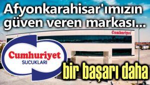 CUMHURİYET SUCUKLARINDAN BİR BAŞARI DAHA!..