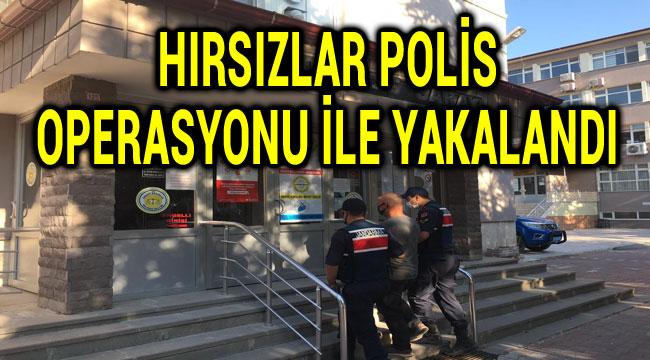 HIRSIZLAR POLİS OPERASYONUYLA YAKALANDI