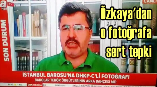 İSTANBUL BAROSU, ASILAN BU RESMİN ALTINDA KALACAKTIR