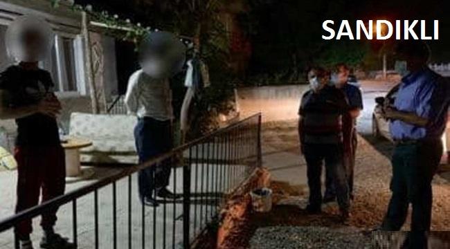 KAYMAKAM'DAN KARANTİNADAKİ VATANDAŞLARA ZİYARET