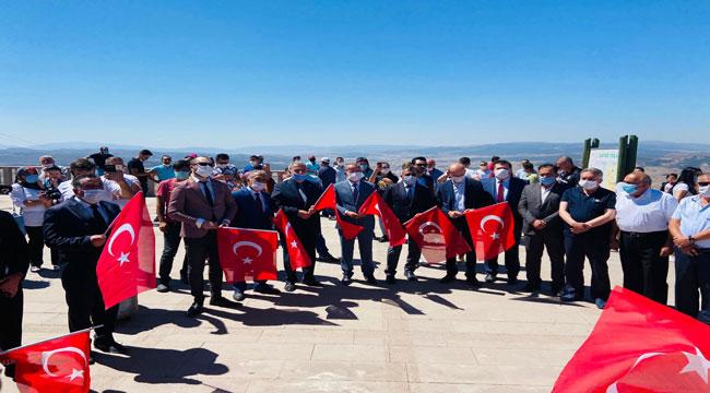 MHP'Lİ İLÇE BAŞKANLARI KOCATEPE'DE BULUŞTU