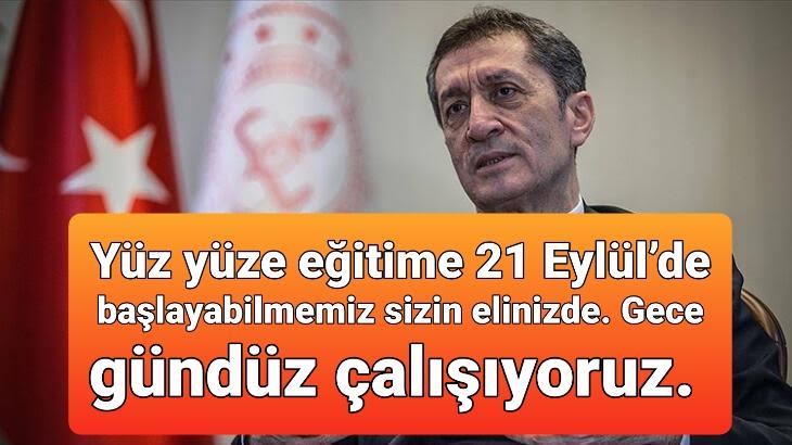 OKULLARI BİRLİKTE AÇACAĞIZ!..