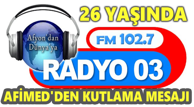 RADYO 03, 26 YAŞINDA