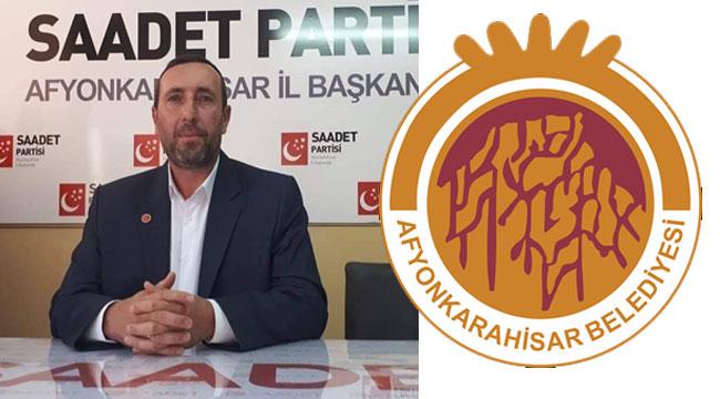SAADET PARTİSİ'NDEN BELEDİYE'YE ÖNERİLER!..