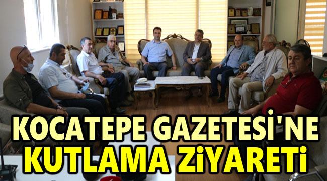ABYD'DEN KOCATEPE GAZETESİNE KUTLAMA ZİYARETİ