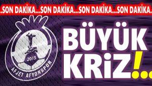 AFJET AFYONSPOR'DA KRİZ BÜYÜYOR!..