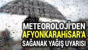 AFYONKARAHİSAR'A YAĞMUR GELİYOR!..