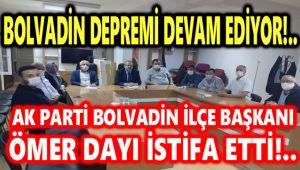 AK PARTİ'DE BOLVADİN DEPREMİ DEVAM EDİYOR!..
