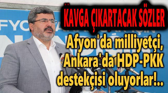 ANKARA'DA MİLLİYETÇİ, ANKARA'DA HDP DESTEKÇİSİ!..