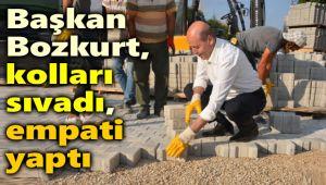 BAŞKAN BOZKURT KOLLARI SIVADI, EMPATİ YAPTI!..