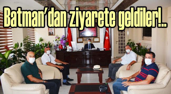 BATMAN KOZLUK'TAN ZİYARETE GELDİLER