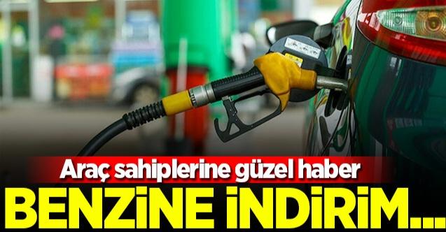 BENZİNE BU GECE İNDİRİM GELİYOR!..
