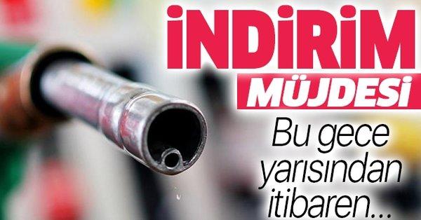 BİR İNDİRİM DE MOTORİNE!..